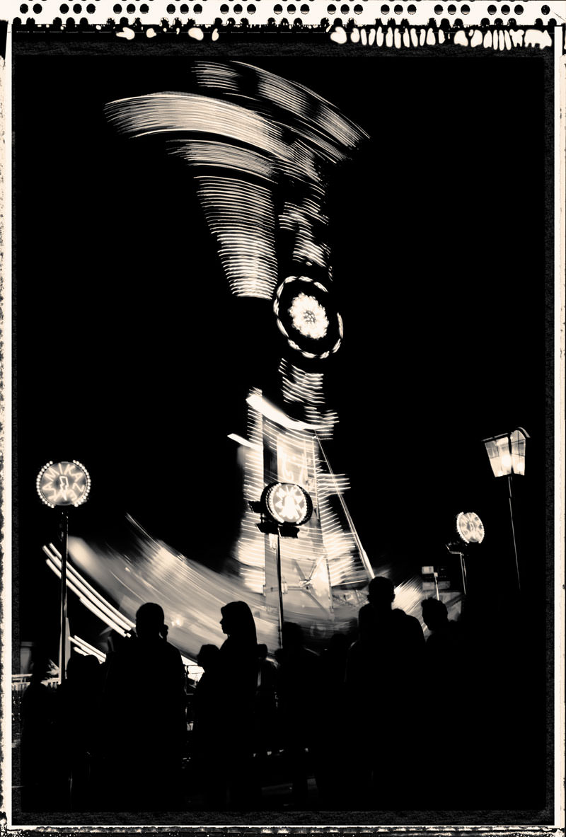 fine art photography black-white motion street carousel photograph photographs photographer artist prints photographic